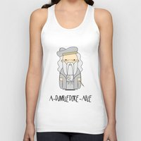 dumbledore Tank Tops featuring A-DUMBLEDORE-ABLE.  by BeckiBoos