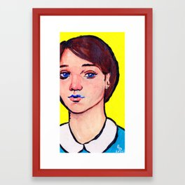 Blue within Framed Art Print