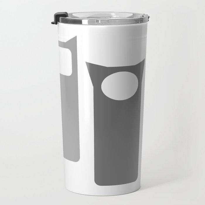 Grey Four Travel Mug