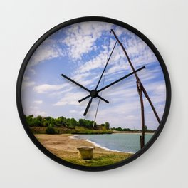well sweep Wall Clock