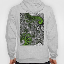 Fantasy World, abstract Fractal Art Hoody