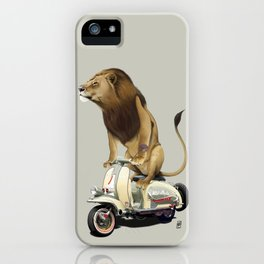 Lamb (Colour) iPhone Case
