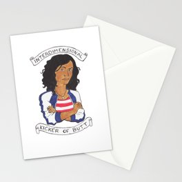 Miss America Chavez - interdimensional kicker of butt Stationery Cards