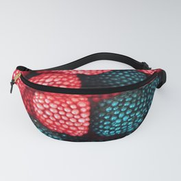 Raspberry and Black Berry Candy Fanny Pack