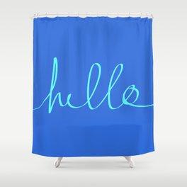 Hello, Sailor Shower Curtain