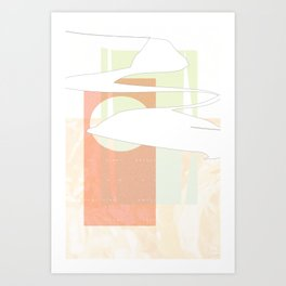 First Love/Late Spring Art Print