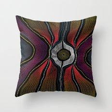 Modern Aboriginal 1 Throw Pillow