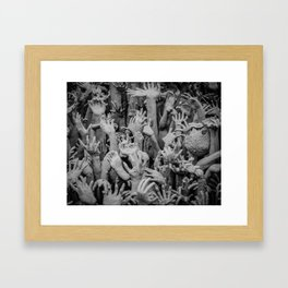 The White Temple - Thailand - 004 Framed Art Print