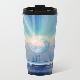 fantasy planet Metal Travel Mug