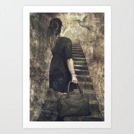 El viaje comienza ( the journey begins) Art Print