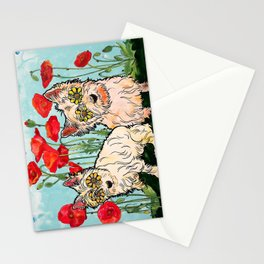 West Highland Terriers by RobiniArt Stationery Cards