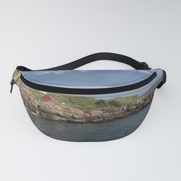 Nubble Lighthouse in Summer Fanny Pack
