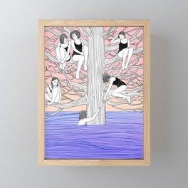 Where It's Safe Framed Mini Art Print