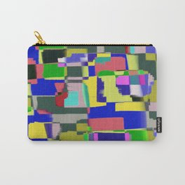 Raw Paint 3 - Colour Abstract Carry-All Pouch