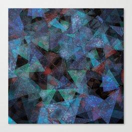 Triangle chaos Canvas Print