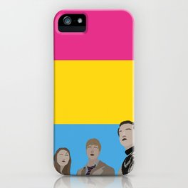 In The Pansexual Flesh iPhone Case