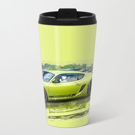 Porsche Metal Travel Mug