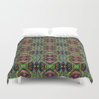 imagination Duvet Covers featuring Imagination by Zandonai Pattern Designs