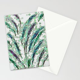 Rave Feathers Stationery Cards
