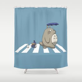 Ghibli Road [Colored] Shower Curtain