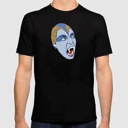 The Lair of the White Worm - Sylvia Marsh T-shirt
