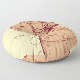 Who am I Floor Pillow