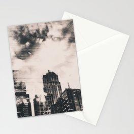 Pike Place Market Dock City Reflection Stationery Cards