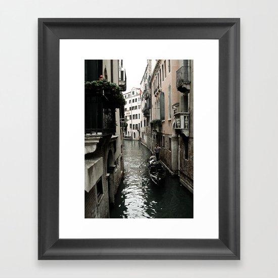 Venezia Love Framed Art Print