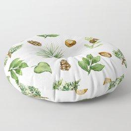 Chestnut Pines Floor Pillow