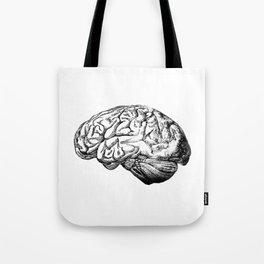 Brain Anatomy Tote Bag