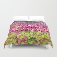 psychadelic Duvet Covers featuring Psychadelic Succulents by Hithere22
