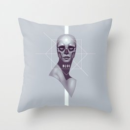 Skull -NLVI- Throw Pillow