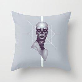 Skull -NLVI- Throw Pillow