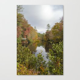 Whittle down the days  Canvas Print