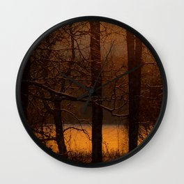 The sun has risen #decor #buyart #society6 Wall Clock