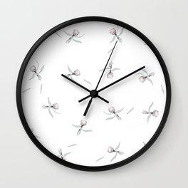 Protea Wildflower Wall Clock