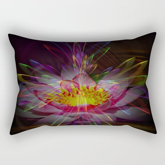 Abstract in perfection 95 Rectangular Pillow