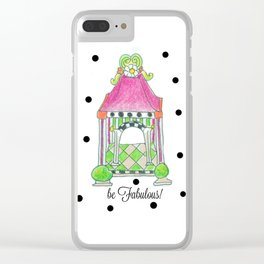 be Fabulous! Clear iPhone Case
