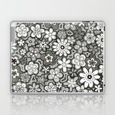 Flower Frenzy Laptop & iPad Skin