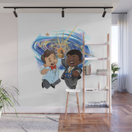 Science High Five Wall Mural