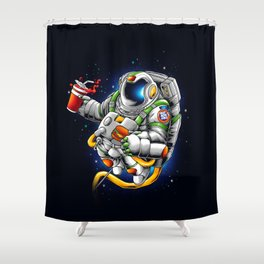 Need More Space Shower Curtain