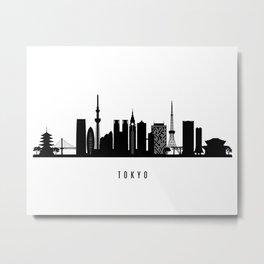 Tokyo Art Print Metal Print