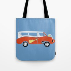 The  Monkeemobile Van Tote Bag