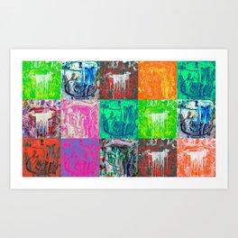 Thirst Bucket Series (1-3) Art Print