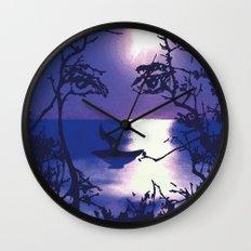 Vesperal Apparition Wall Clock