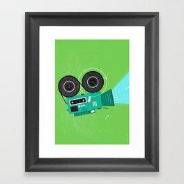 Video Framed Art Print