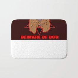 Bloodthirsty Bloodhound Bath Mat