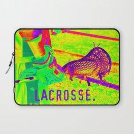 LACROSSE PLAYER Laptop Sleeve