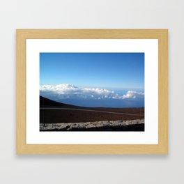 Maui Cloud Ride Framed Art Print