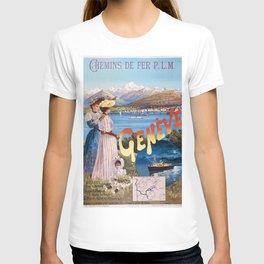 Old Sign / Geneve Affiche - Paris T-shirt